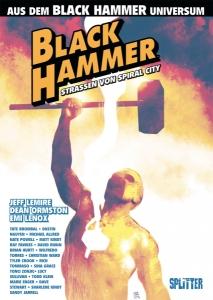 Black Hammer Straßen von Spiral City